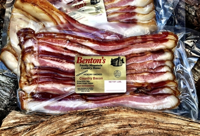Hickory Smoked Country Bacon   (4 one pound packs)