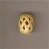 Bead-Beijing Chic-Oval bone basket weave