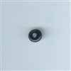 Asian Blue and White Bead - Cobalt blue, 11mm