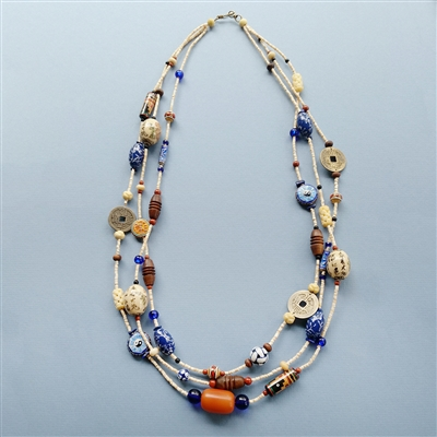 Asian Earth Treasures Necklace Kit
