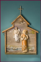 St. Francis of the Waterways, A Wall Shrine