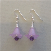 The Mountain Violets Earrings Kit