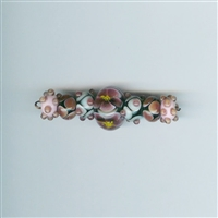 7 Am Lampwork Beads - American Beauty