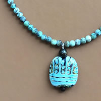 Photo of the Earth Mother Necklace Kit