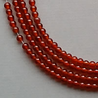 Photo of 4mm Carnelian Beads by the Strand