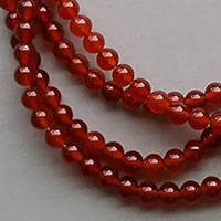 Photo of 6mm Carnelian Beads by the Strand