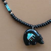 Photo of The Rain Cloud Zuni Bear Necklace Kit