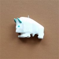 The White Buffalo Pendant photo