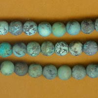 photo of Matte Finish African Turquoise - 6mm round