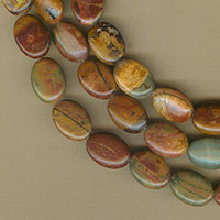 Red Creek Jasper Flat Ovals