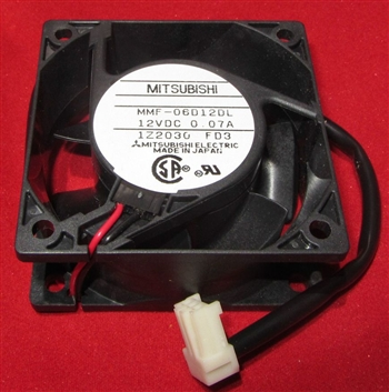 Mitsubishi Electric 60mm Cooling Fan - 12V DC - MMF-06012DL