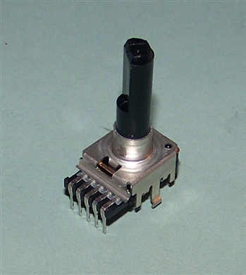 10k ohm Dual Audio Taper Potentiometer Pot with PC Pins