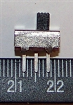 Ultra Miniature SPDT Slide Switch