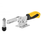 557108 Horizontal acting toggle clamp. Size 3, yellow