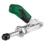 557538 Push-pull type toggle clamp. Size 1, green