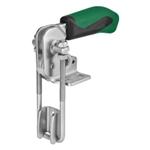 557609 Hook type toggle clamp vertical. Size 4, green.