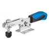 557657 Horizontal acting toggle clamp. Size 2, blue