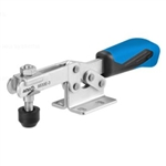 557658 Horizontal acting toggle clamp. Size 3, blue