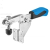 557685 Horizontal acting toggle clamp. Size 4, blue