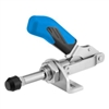 557697 Push-pull type toggle clamp. Size 5-M27, blue