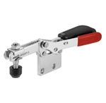 5578159 Horizontal toggle clamp with safety latch. Size 4, black.