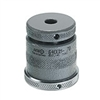 73403 Screw jack with flat support and magnetic base