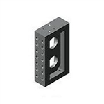 88773 Angle block, double row from AMF brought to you by ITBONA-MACHINETOOL.