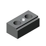 88807 Support-stop block, single-sided