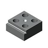 88849 Support-stop block, single-sided, wide from AMF brought to you by ITBONA-MACHINETOOL.