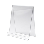 3.5 x 4 in. Acrylic Display Easels - 3 in. Open