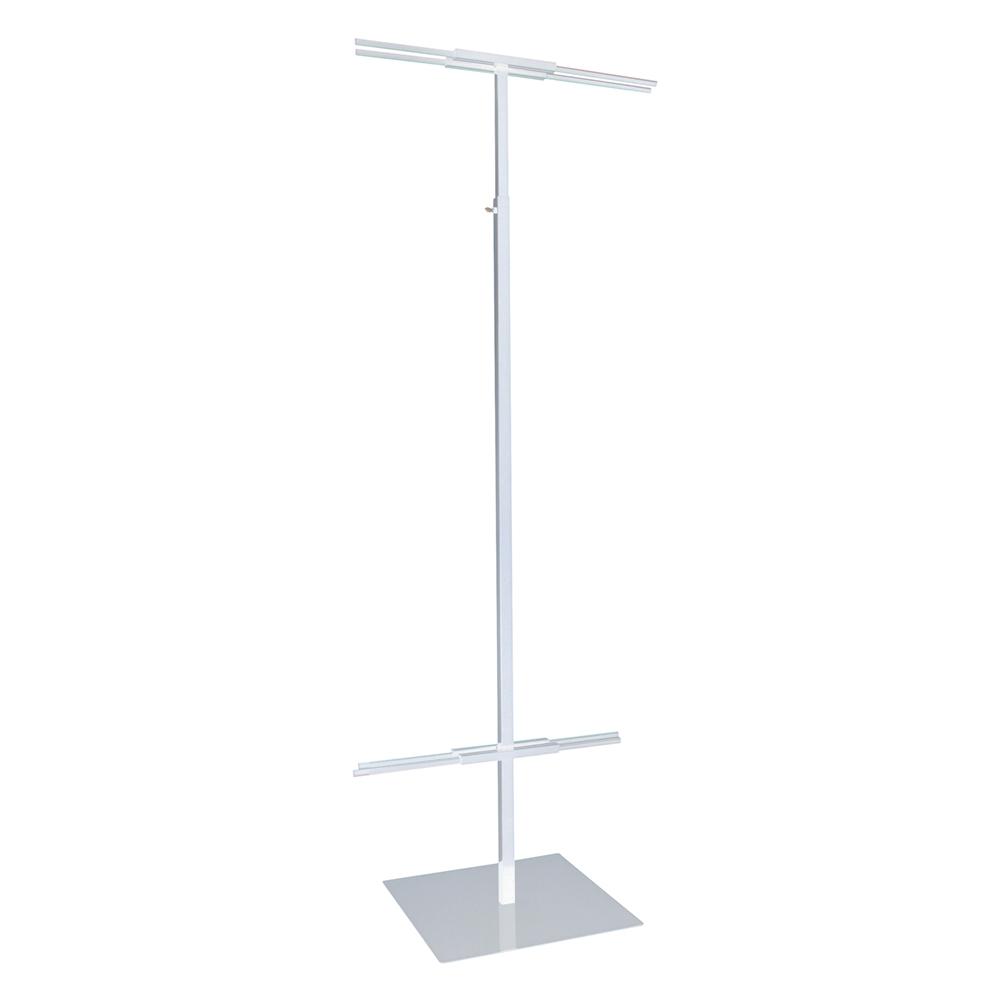 Adjustable floor standing banner displayer for Floor banner