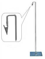 Metal Sign Holder W/ Down Position Clip