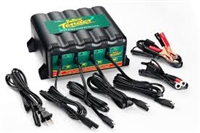 4-Bank Battery Tender© Plus 12 Volt 1.25 Amp