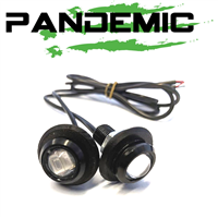 Pandemic Jeep JK Tailgate Plugz - Integrated LED Reverse Lights - Pair
