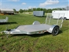 Sundowner 8112 SUT Aluminum 12' Flatbed Utility Trailer with ramp