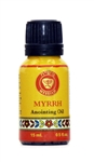 Anointing Oils Myrrh Cobalt blue glass bottle 15ml - 0.5 fl.oz.