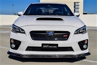 CF500 2015 AND UP SUBARU WRX STI CARBON FIBER FRONT SPLITTER