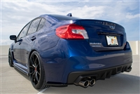 CF500 2015 AND UP SUBARU WRX STI Composite Blend REAR SPATS