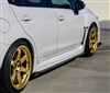 CF500 201+ SUBARU WRX STI CARBON FIBER SIDE SKIRTS