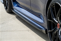CF500 2015+ Subaru WRX STI Composite Blend Side Skirts