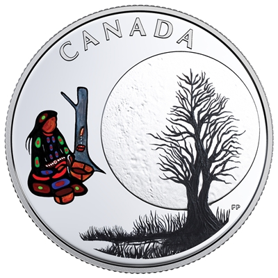 2018 Canada $3 13 Teachings from Grandmother Moon - Sugar Moon (No Tax)