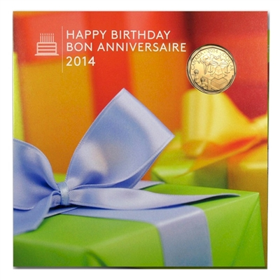 2014 Canada Birthday Gift Set with Commemorative Loon - - 128280.