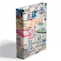 Vario Bank Note Album. Holds up to 300 World Bank Notes