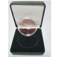 Coin Display Box for 38mm Coins - includes 38mm Capsule