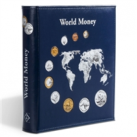 Numis Album World Collection with 5 sheets for 143 coins