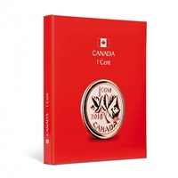 Kaskade Coin Album for Canadian 1 cent. This Album comes in Red!