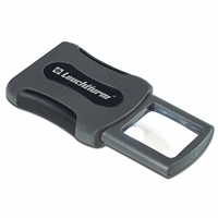 CLIP pocket magnifier with 3x magnification and LED (347972)