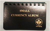 Small Currency Album for Shinplasters or Small World Paper Notes