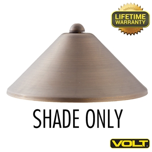 Conehead Shade Only Bronze Finish