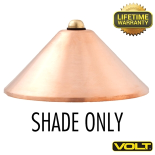 Conehead Shade Only Raw Copper Finish